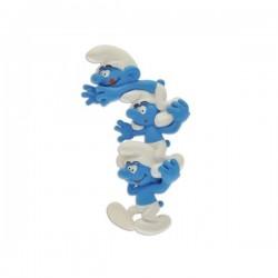 Magnet Courte echelle de Schtroumpfs - SCHTROUMPF - PLASTOY 070029