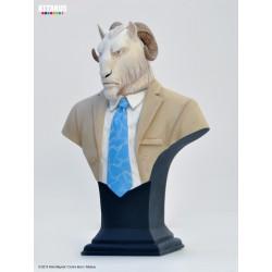 Figurine Buste Thomas Lachapelle, le bouc - Blacksad - Attakus - B427