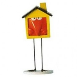 Figurine Shadok maison individuelle orange - Pixi - 82345