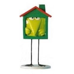 Figurine Shadok maison individuelle vert - Pixi - 82347