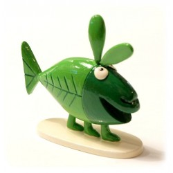Figurine Shadok Le lapin poisson - Pixi - 82339
