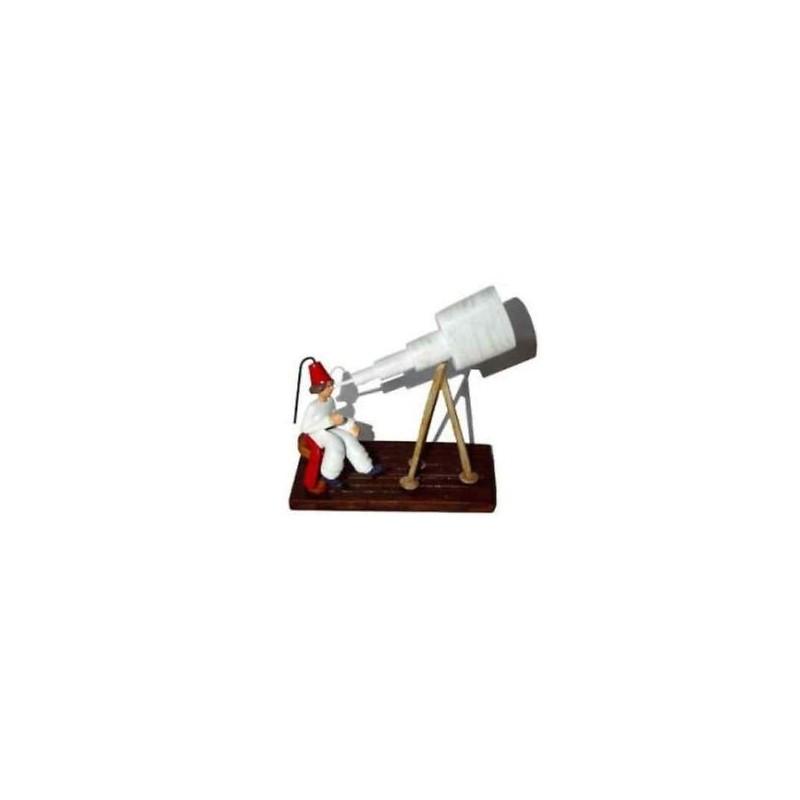 Figurine L'astronome au téléscope LE PETIT PRINCE - Pixi 05709