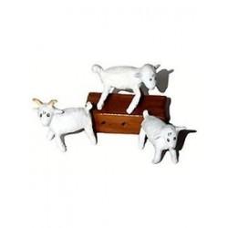 Figurine Les 2 moutons, le bélier et la caisse LE PETIT PRINCE - Pixi 05712