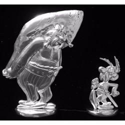 Figurines Asterix et Obelix - UDERZO -  Les etains de Virginie