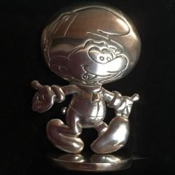 Figurine Schtroumpf Le Cosmoschtroumpf - Peyo -  Les etains de Virginie