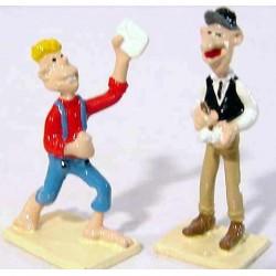 Figurine Boite complément Télégraphie Lucky Luke - Pixi 02452