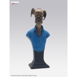 Figurine Buste Sebastian - Blacksad - Attakus - B429