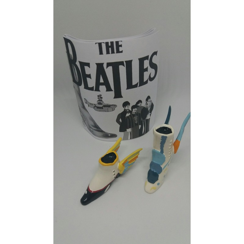 Figurine The Beatles Flying Shoes - Pixi 03704
