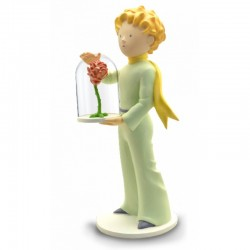 Figurine LE PETIT PRINCE ET LA ROSE - PLASTOY COLLECTOYS 112