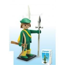 Figurine PLAYMOBIL LE JEUNE ARQUEBUSIER - PLASTOY COLLECTOYS 266
