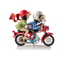 Gaston Lagaffe Moto inspirée de Honda S9  Figures & Vous - GF14