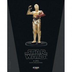 Figurine C3PO n°3  (bras rouge) - Star Wars - Attakus - SW040