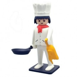 Figurine PLAYMOBIL LE CUISINIER - PLASTOY COLLECTOYS 210