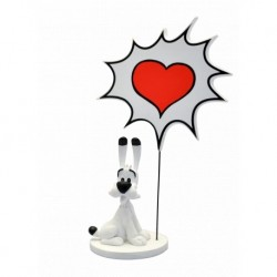 Figurine Astérix Bulles Idéfix PLASTOY COLLECTOYS 00131