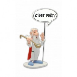Figurine Astérix Bulles Panoramix PLASTOY COLLECTOYS 00133