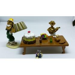Figurine Le pudding a...