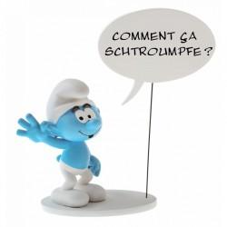Figurine Schtroumpf Bulles...