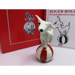 Figurine Roger-roger sur un...