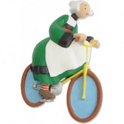 Magnet Bécassine à vélo -...