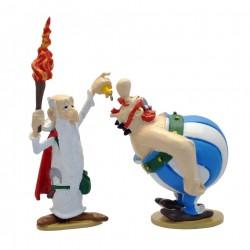 Figurine Astérix Obelix une...