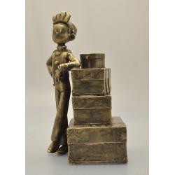 Figurine Spirou et la pile...