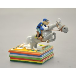 Figurine Tuniques Bleues -...