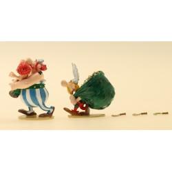 Figurine Astérix, Obélix et...