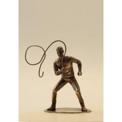 Figurine Olrik au fouet...
