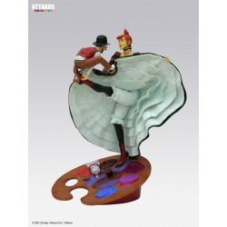 Figurine Toulouse & la Goulue  - Le Cabaret des Muses - Attakus