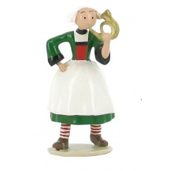 Figurine Becassine clairon - Collection Origine Bécassine - GAUTIER / LANGUEREAU - Pixi 06448