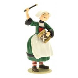 Figurine Becassine tambourin - Collection Origine Bécassine - GAUTIER / LANGUEREAU - Pixi 06449